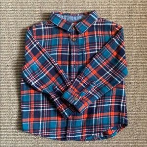 Boy's flannel